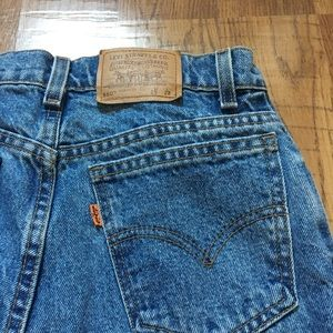 "Levi's 550 Orange Tag ""Mom"" Jeans"